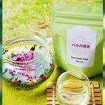 バラの煎茶は、お気に入りの和菓子と一緒にどうぞ