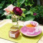 5月限定 バラジャムとバラの和紅茶セット