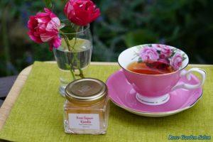 紅茶とバラのシロップ