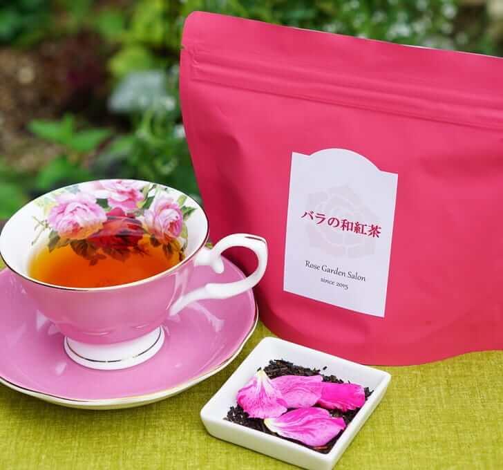 バラの和紅茶 リーフ