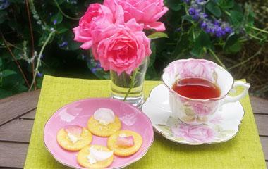 「バラのお茶」手作りレッスン